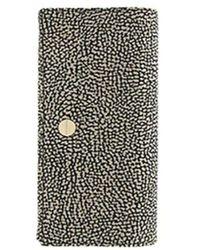 Borbonese Large Wallet - Black