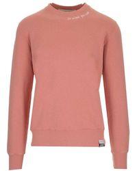 Golden Goose Deluxe Brand Men's Gmp00794p00036425554 Pink Sweatshirt