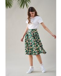 Emily and Fin - Pippa Toucans A Line Skirt - Lyst