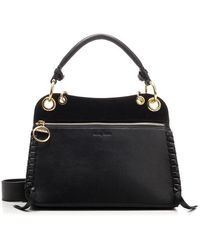 See By Chloé See By Chlo㉠Women's Chs20ssa46695001 Black Leather Handbag