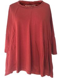 Rundholz Ss21 3260504 T-shirt - Berry - Red