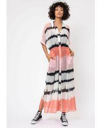 Religion Edge Print Dress - Multicolour