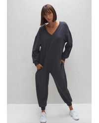 Chalk Julie All In One Jumpsuit Charcoal - Multicolour