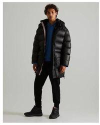 HUNTER Insulated Rubberised Puffer Coat Xs - Black