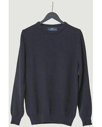 Suit Henry Sweater Navy Blazer - Blue