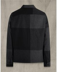 Belstaff Forge Overshirt - Black