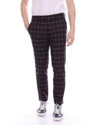 Michael Coal Men's Marlon3322darkblue Blue Wool Trousers