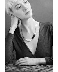 Wolf & Moon - Collage Necklace - Lyst