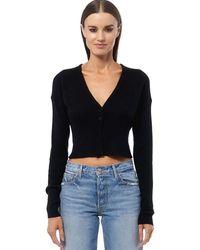 360cashmere - 360 Sweater Grace Cashmere Cardigan - Black - Lyst