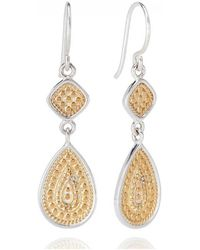 Anna Beck - Signature Beaded Double Drop Earrings - Lyst