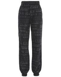 Kirin Kwvi001f20fab0011011 Polyester JOGGERS - Black