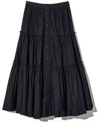 Marc Jacobs The Prairie Skirt - Black