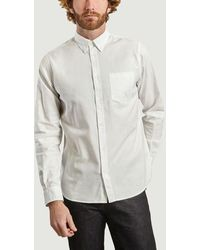 Norse Projects - Anton Oxford Shirt White - Lyst