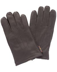 Barbour Men's Mgl0086br91 Brown Cotton Gloves