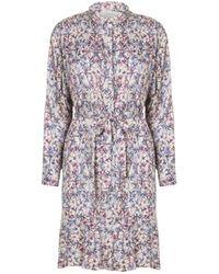 Munthe - Truffle Dress Ivory - Lyst