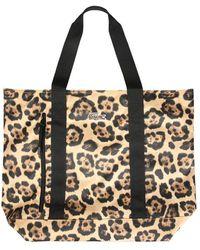 Lacoste Women's Nf3345g09 Brown Polyester Shoulder Bag
