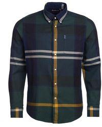 Barbour Seaweed Tartan Shirt - Green