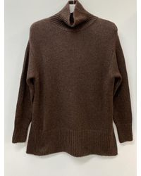 Riani Roll Neck Knitted Sweater 187740 8173 644 - Brown