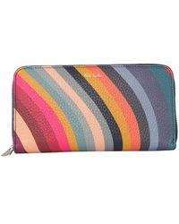 Paul Smith Classic Zip Wallet - Multicolor