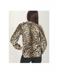NÜ Silky Leopard Print Shirt - Multicolour