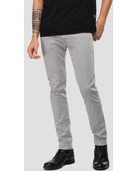 Replay Hyperflex Jeans - Grey