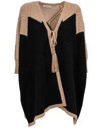 Tabaroni Cashmere Tabaroni Cloak - Black