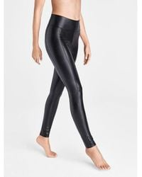 Wolford Edie Forming Leather legging - Red