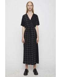 Just Female Halle Maxi Wrap Dress - Black