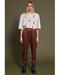 Stella Nova Mendi Trousers - Leopard - Multicolour