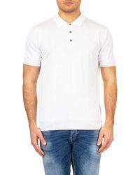 Baracuta Cotton Polo Shirt - White