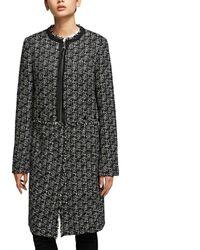 Karl Lagerfeld Coat In Black