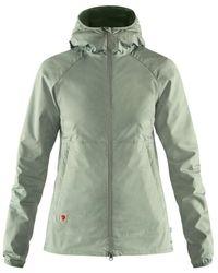 Fjallraven Fjallraven Womens High Coast Shade Jacket Sage Green