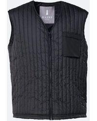 Rains Liner Vest - Black
