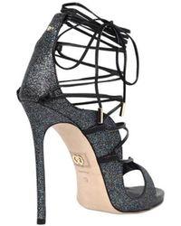 DSquared² Riri Glitter Sandals - Metallic