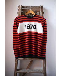 Bella Freud 1970 Merino Wool Jumper - Red