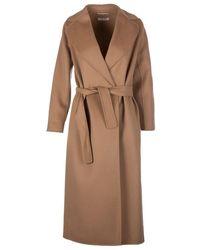 Max Mara Maxmara Camel Coat - Brown