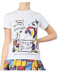 Stella Jean T-shirt U01 Sjt375-s080 White