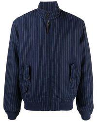 Ralph Lauren Linen Outerwear Jacket - Blue