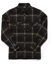 Sebago Swan L/s Check Shirt Check Green - Black