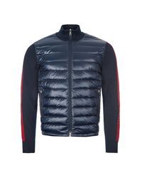 Moncler Knitted Cardigan Tricot - Navy - Blue