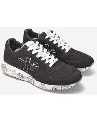 Premiata Flat Shoes - Black
