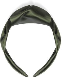 Le Monde Beryl Knot Headband - Green
