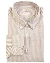 Xacus Shirt Beige - Brown