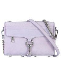 Rebecca Minkoff Mini Mac Bag - Purple