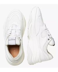 SELECTED Gavina Leather Sneakers - White