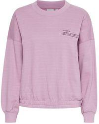 Ichi Kawi Lavender Sweatshirt - Purple