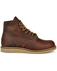 Red Wing Rover Boot Copper Rough & Tough - Brown