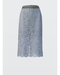 Dorothee Schumacher Women's 942505 Bold Poetry Skirt - Blue
