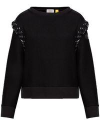 Moncler 6 Genius X Noir Kei Ninomiya Sweatshirt - Black
