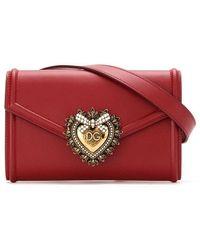 Dolce & Gabbana Dolce E Gabbana Women's Bb6706av89387124 Red Leather Belt Bag